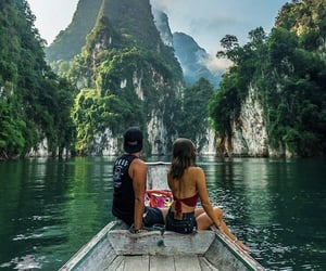 adventure, holidays, and jungle image