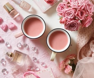 beauty, drink, and girly image