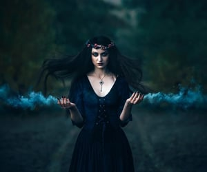 dark, Darkness, and fairytale image
