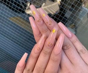 long nails, nails, and pretty image