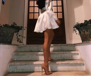 beautiful, heels, and woman image