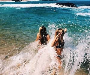 beach, ocean, and beautiful image
