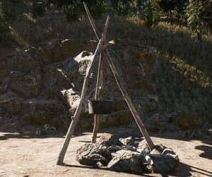 camp, diy, and nature image