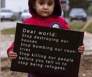 refugees and world image