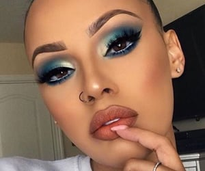 beauty, blue, and goals image