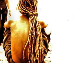 dreadlocks, dreads, and rasta image