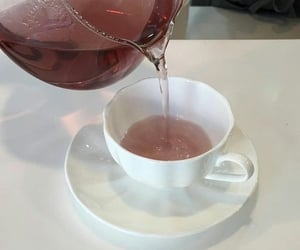 tea, aesthetic, and pink image