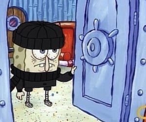 spongebob, cold, and funny image
