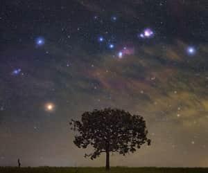 amazing, galaxy, and landscape image