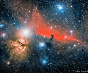 space, galaxy, and nebula image