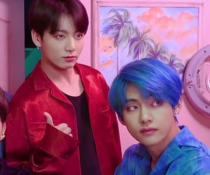 tae, koo, and bts image