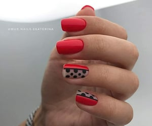 black, point, and rednails image