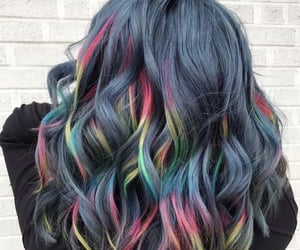 aesthetic, hair, and capelli image