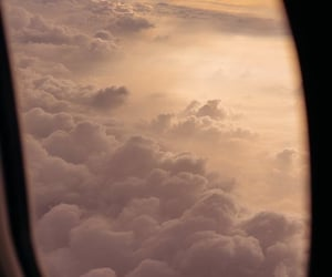 background, clouds, and plane image