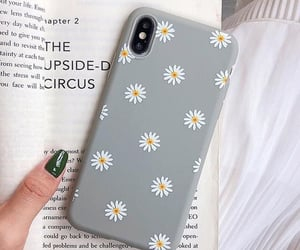 flowers, phone, and case image
