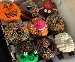 doughnuts, food, and Halloween image
