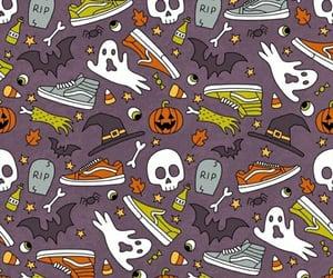 background, Halloween, and vans image