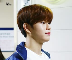 brown hair, 김승민, and twitter q&a image