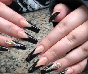 diamond, blackpink, and nails image