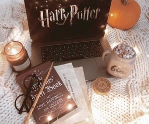 harry potter, book, and candle image