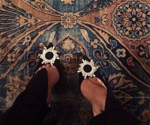 fashion, shoes, and carpet image