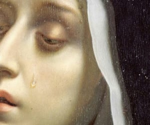 art, crying, and italian image