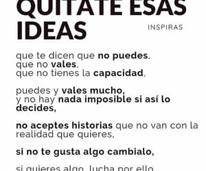 ideas, letras, and mucho image