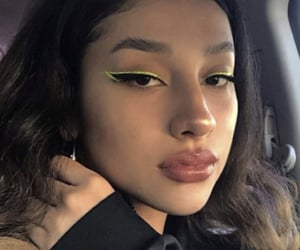 girl, makeup, and looks image