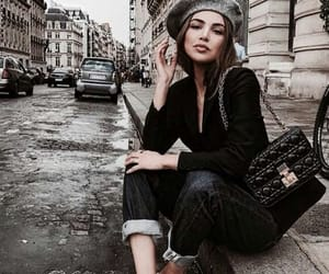 city, fashion, and chic image