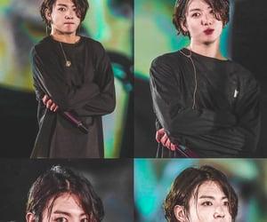 hair, jungkook, and bts jungkook image