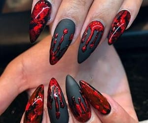 beautiful, Halloween, and nails image