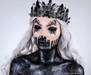 Halloween, october, and makeup ideas image