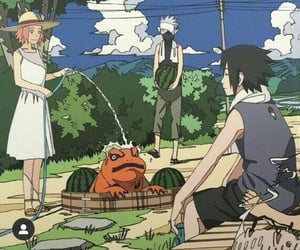kakashi, sakura, and naruto uzumaki image