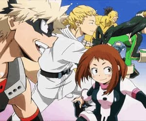 anime, anime girls, and boku no hero academia image