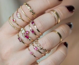 accessory, jewellery, and rings image