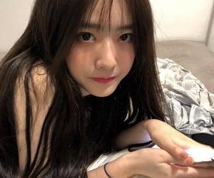 girl, korean, and cute image
