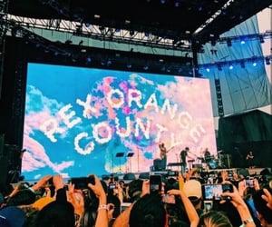 aesthetic, coachella, and concert image