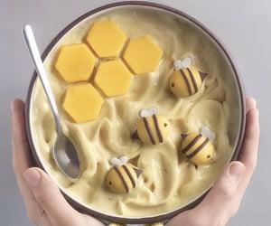 food, yellow, and aesthetic image