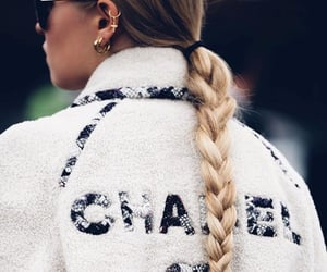 blonde, chanel, and fancy image