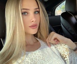 beauty, blondie, and blue eyes image