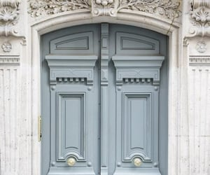 door and blue image