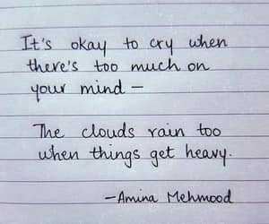 okay, cry, and pain image