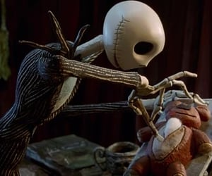 Halloween and jack skellington image