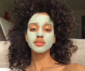 beauty, girl, and skincare image