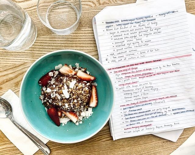 eat, health, and highschool image