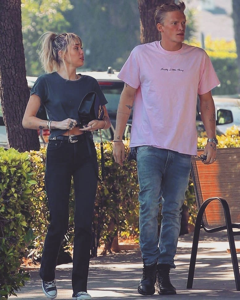 goals, miley cyrus, and cody simpson image
