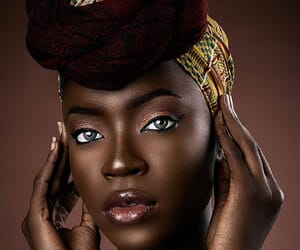 brown, gold, and woman image