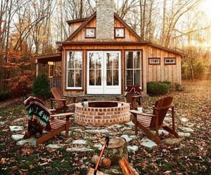 house, autumn, and cozy image