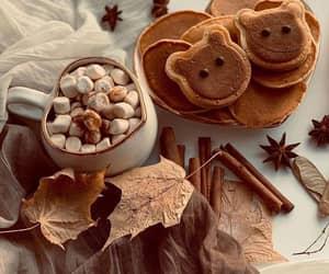 autumn, marshmallow, and chocolate image