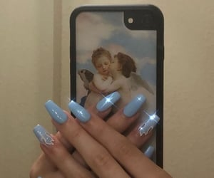 nails and angel image